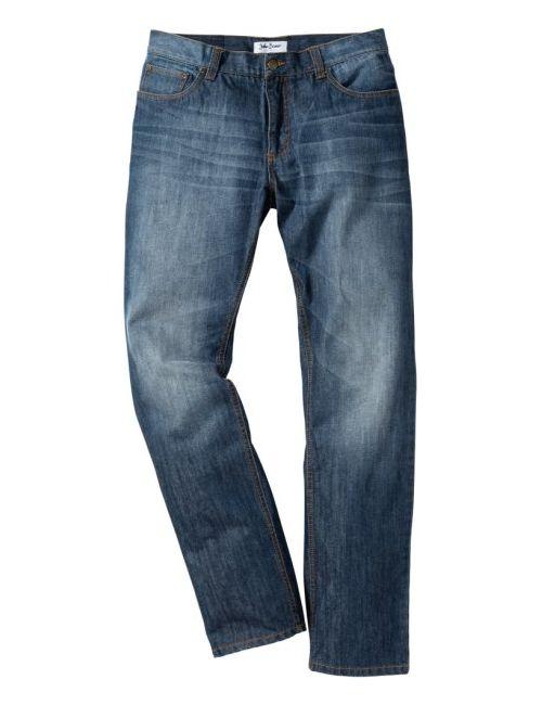 bonprix   Мужские Голубы Джинсы Regular Fit Straight Cредний Рост N