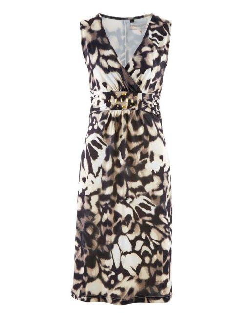 bonprix | Женское Коричневое Трикотажное Платье