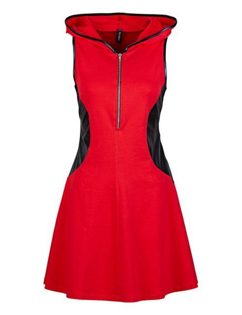 bonprix | Женское Черный Платье С Капюшоном