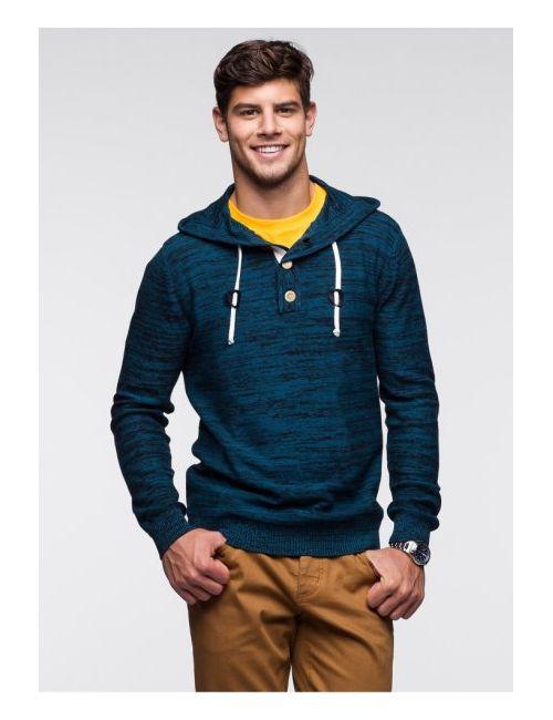 bonprix | Синий Пуловер