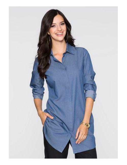 bonprix | Женская Синяя Блузка