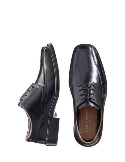 bonprix | Мужские Чёрные Кожаные Туфли