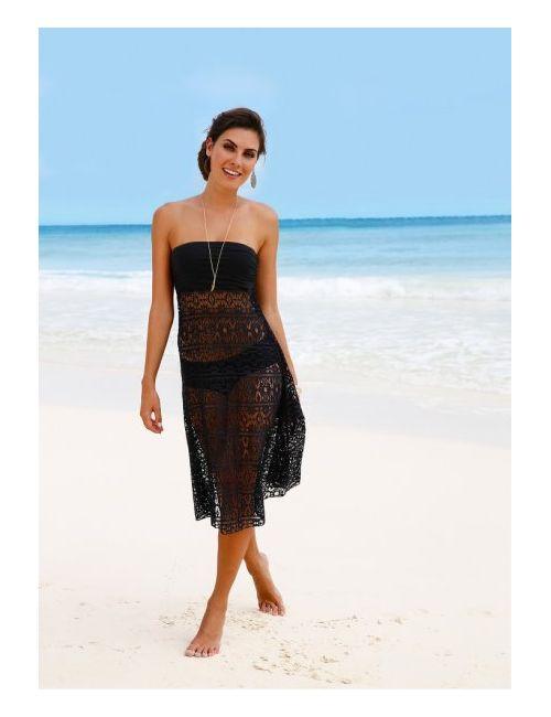 bonprix | Женское Черный Пляжное Платье