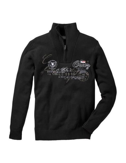 bonprix | Серый Пуловер Regular Fit