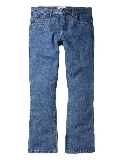 bonprix | Мужские Голубы Джинсы Regular Fit Bootcut Низкий Высокий Рост