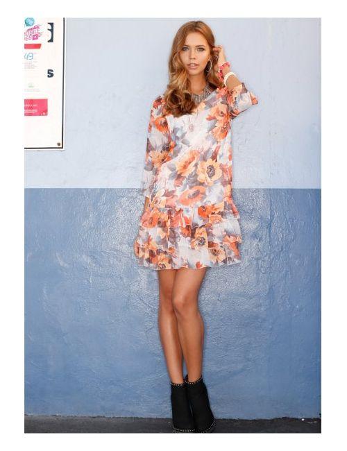 bonprix | Женское Оранжевое Платье