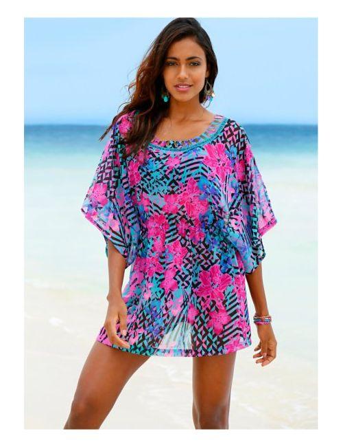 bonprix | Женское Розовое Пляжное Платье