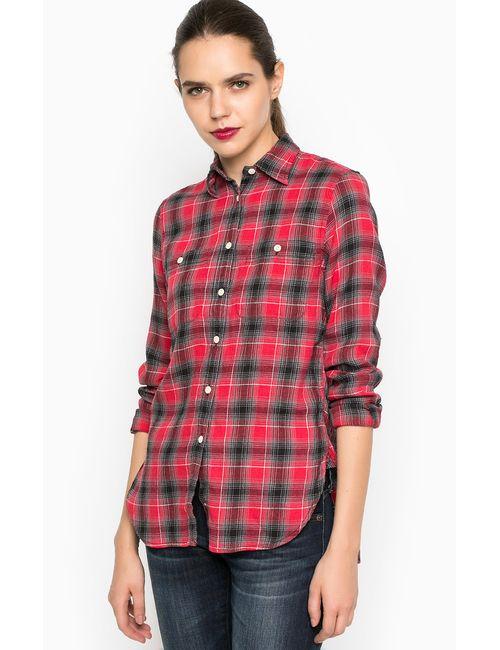 DS Ralph Lauren | Женская Красная Рубашка