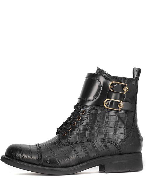 Tommy Hilfiger | Женские Чёрные Ботинки