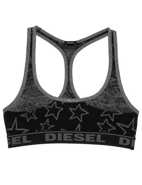 Diesel | Женский Чёрный Бюстгальтер