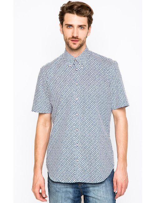 LERROS | Мужская Синяя Рубашка