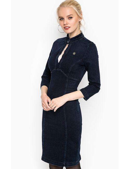 ARMANI JEANS | Женское Синее Платье
