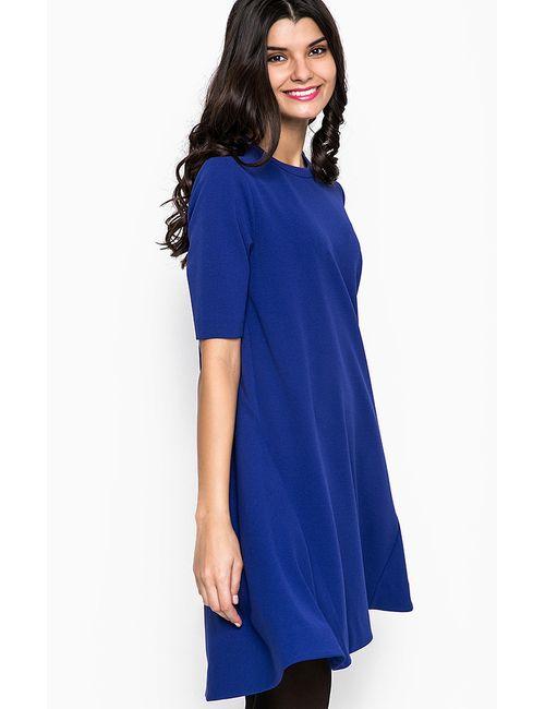 Pois | Женское Синее Платье