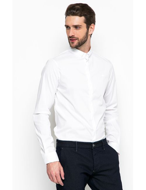 ARMANI JEANS | Мужская Белая Рубашка