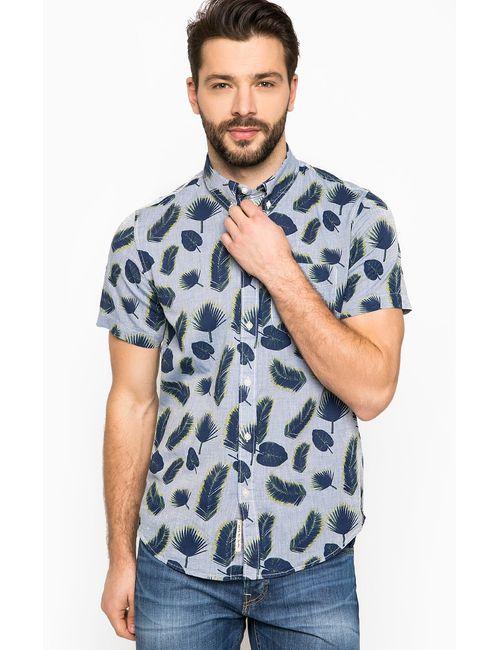 Lee | Мужская Голуба Рубашка