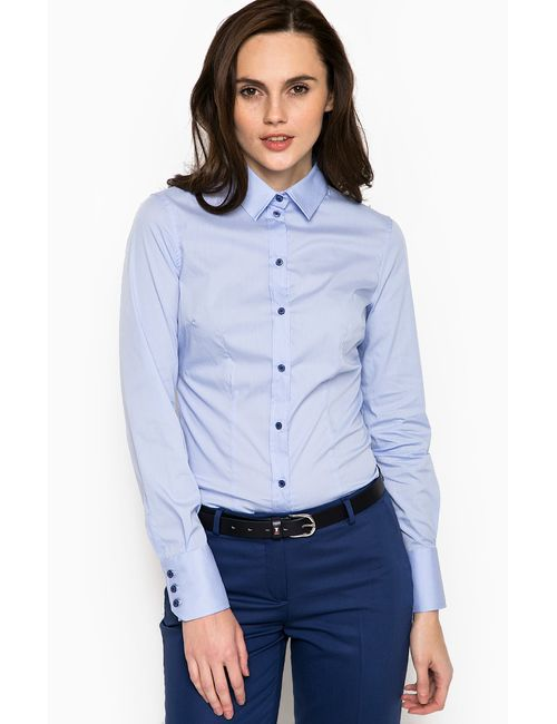 Trussardi Jeans | Женская Голуба Блуза