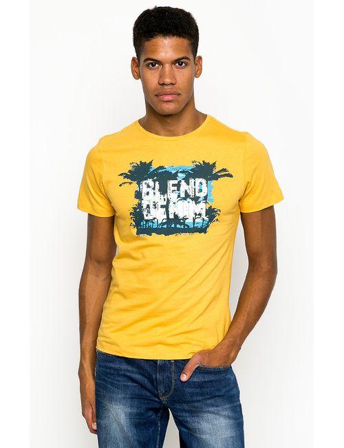 Blend | Мужская Жёлтая Футболка