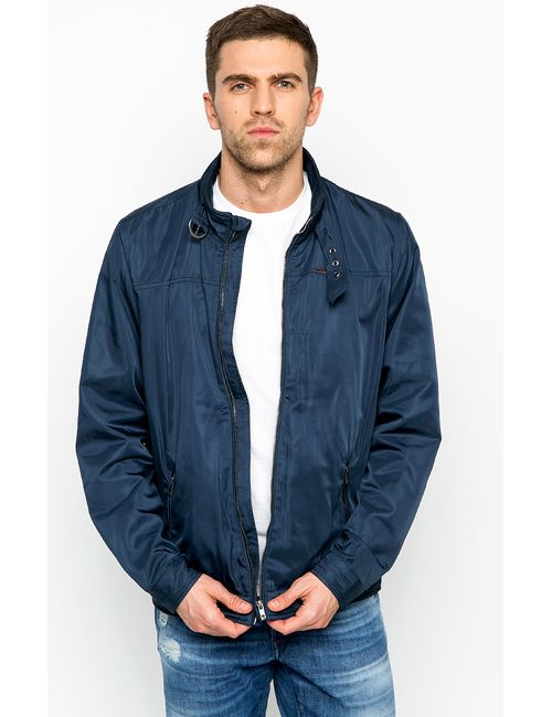 Mustang | Мужская Синяя Куртка
