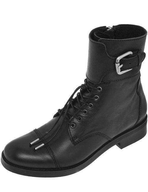 Diesel | Женские Чёрные Ботинки