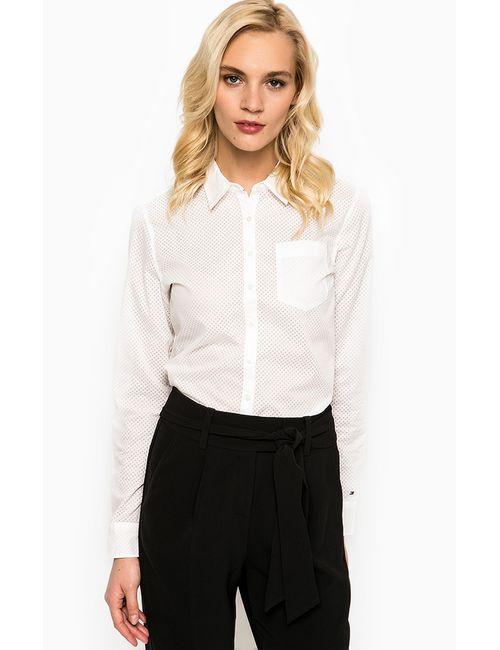 Tommy Hilfiger | Женская Белая Рубашка