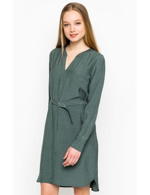 TOM TAILOR | Женское Зелёное Платье