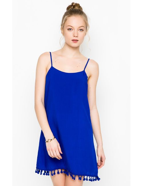 Glamorous   Женское Синее Платье