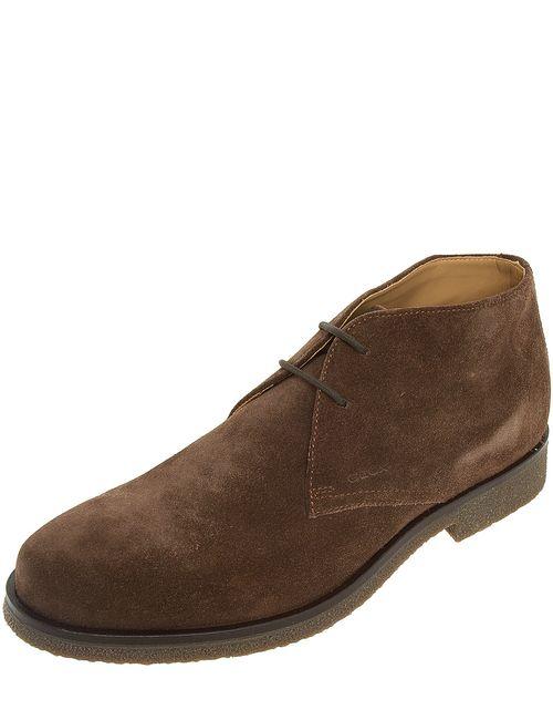 Geox   Мужские Коричневые Ботинки