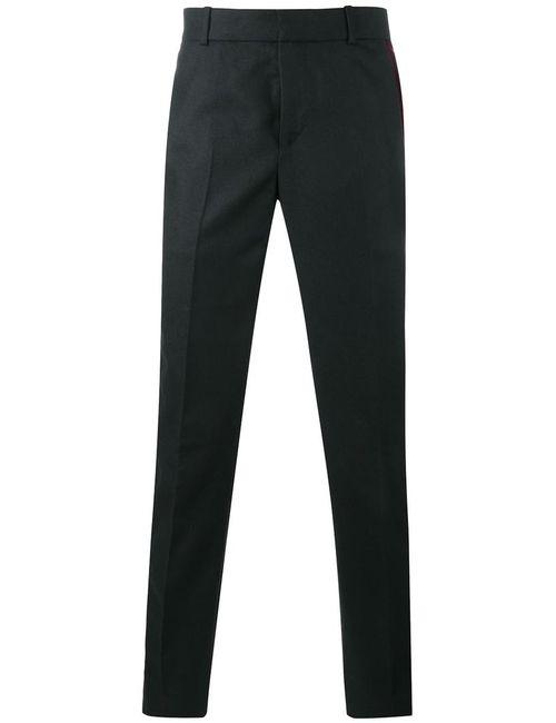 Alexander McQueen | Черный Side Stripe Trousers
