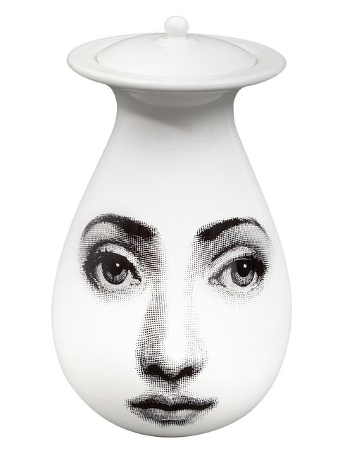 FORNASETTI | Чёрный Printed Vase