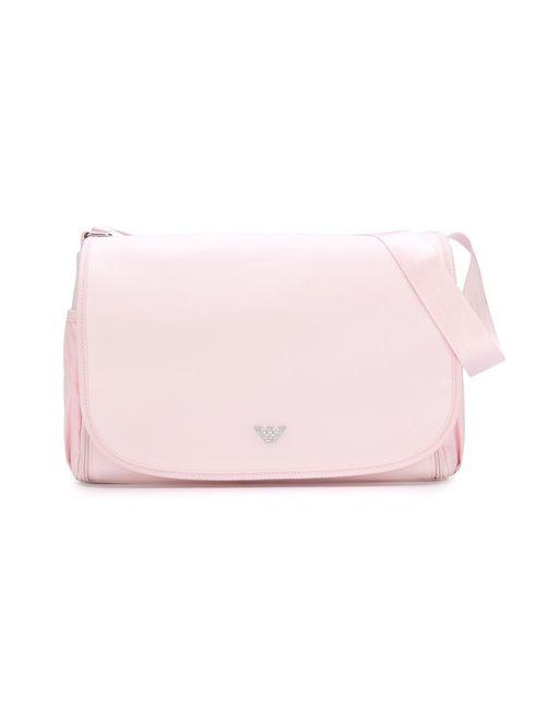 Armani Junior | Розовый Flap Changing Bag