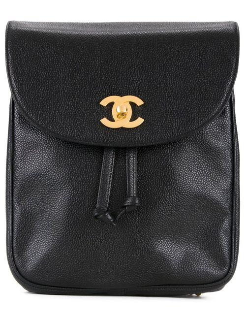 Chanel Vintage | Женское Чёрный Mini Logo Rucksack