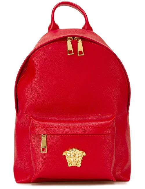 Versace   Женское Красный Medusa Backpack