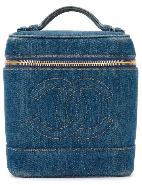 Chanel Vintage | Женское Синий Logo Embossed Box Bag