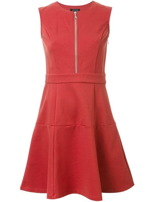 LOVELESS | Женское Желтый Flared Zip Dress 34 Cotton