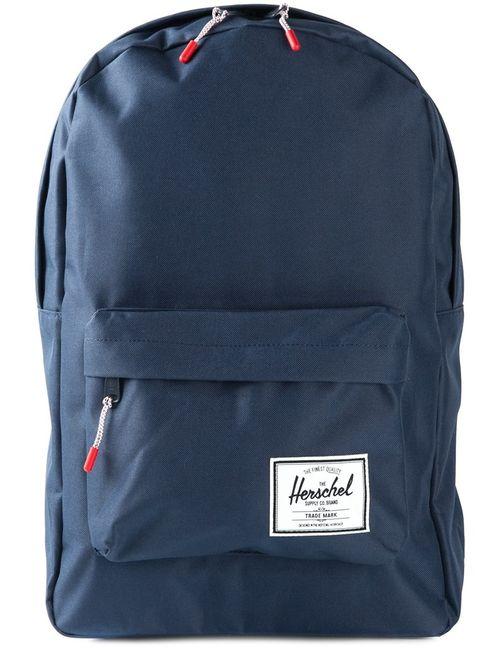 Herschel Supply Co.   Синий Classic Zip Backpack Polyurethane
