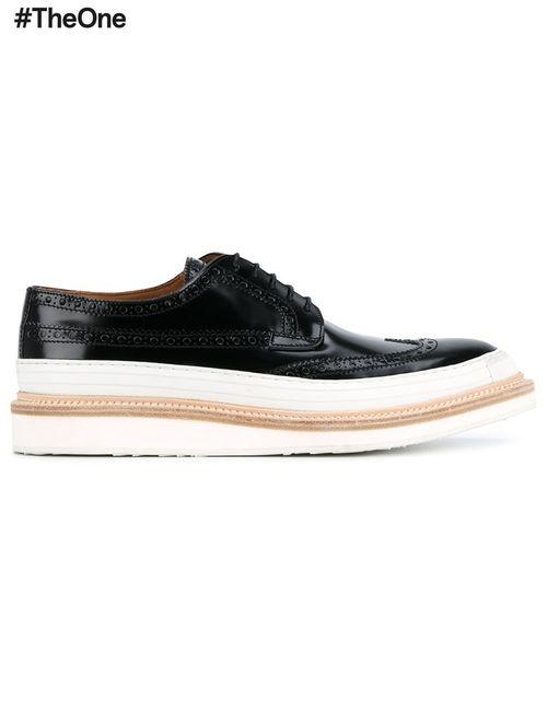 WHF WEBER HODEL FEDER | Черный Weber Hodel Feder Hartford Brogue Shoes 41.5