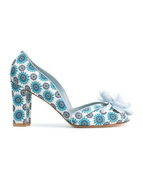 Sarah Chofakian | Синий Embellished Pumps 35 Polyester