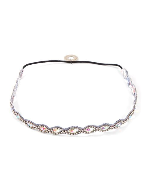 SERPUI | Серый Embellished Headband Leather