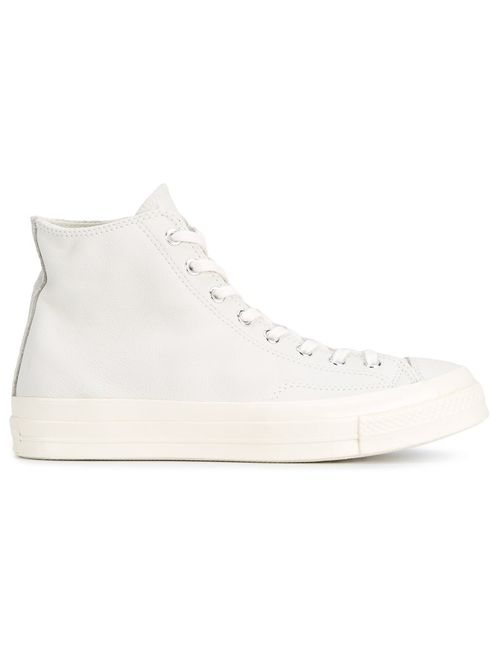 Converse | Серый All Star 70 Hi-Top Sneakers 10.5 Cotton/Leather/Suede/Rubber
