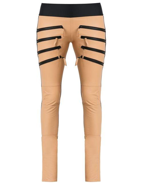 Andrea Bogosian | Женское Коричневый Leather Skinny Trousers P Leather