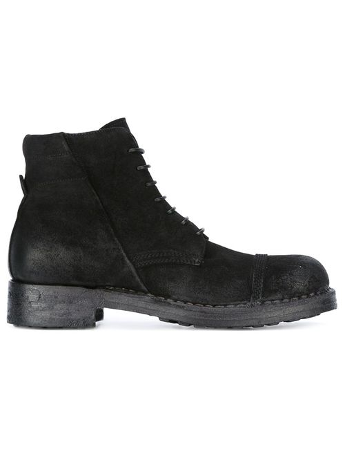 Silvano Sassetti | Черный Milano Bad Boots 7 Leather/Suede/Rubber
