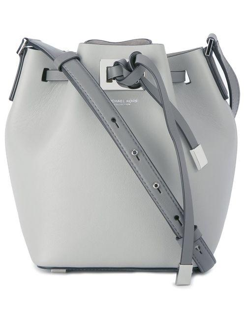 Michael Kors   Серый Small Miranda Bucket Bag