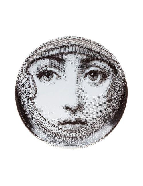 FORNASETTI | Серый Face Print Coaster