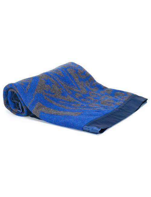 Sibling | Синий Jacquard Blanket