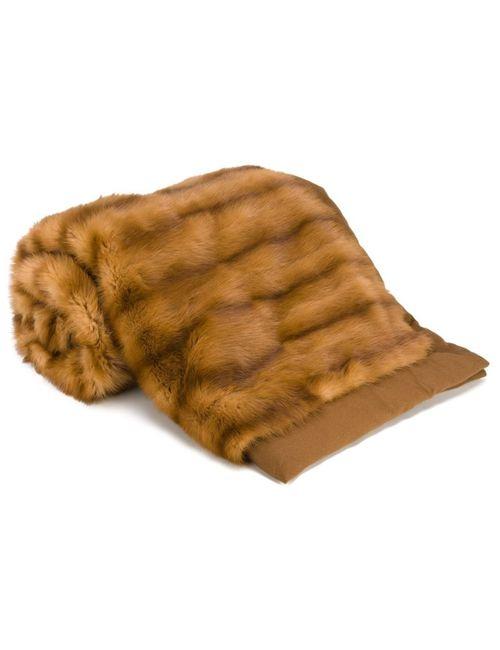 Liska | Nude/Neutrals Cashmere Blanket