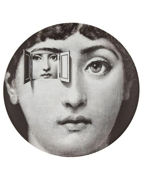 FORNASETTI | Серый Plate