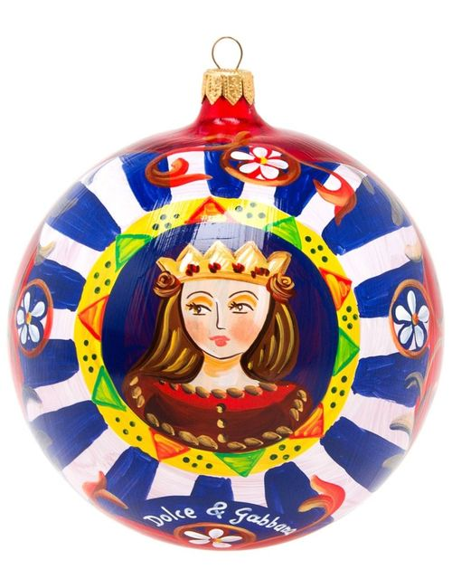 Dolce & Gabbana | Painted Christmas Bauble