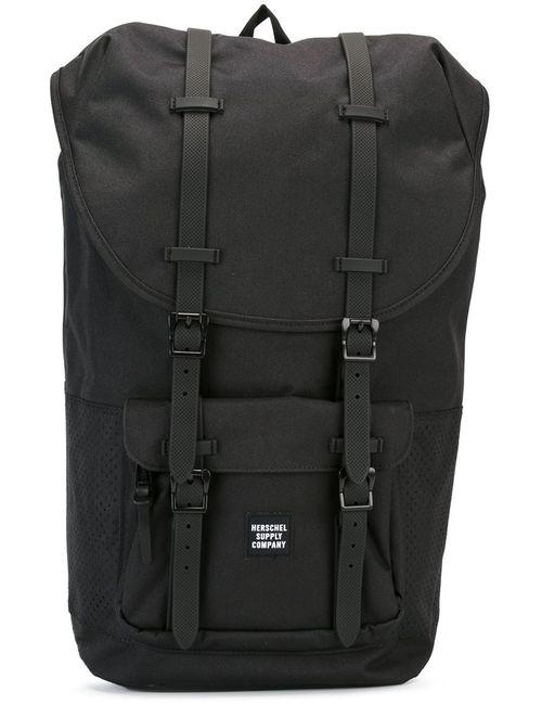 Herschel Supply Co. | Чёрный Little America Backpack Polyester/Polyurethane