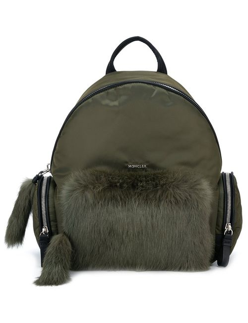 Moncler | Женское Зелёный Flore Backpack