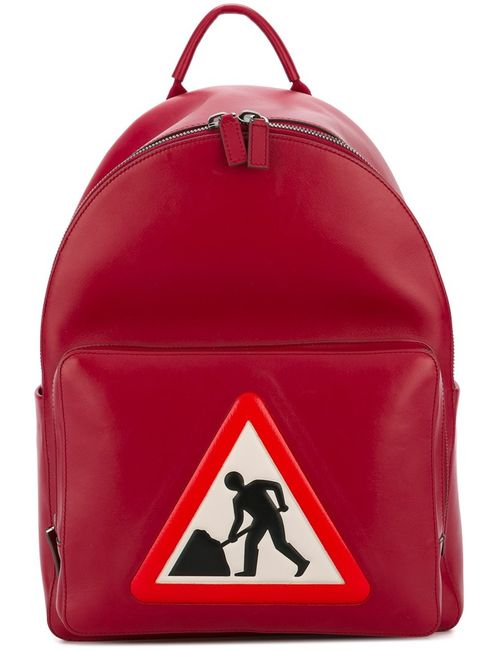 Anya Hindmarch | Красный Men At Work Backpack Leather